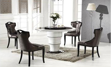Naples Marble Dining Table With 6 Chairs Part 41