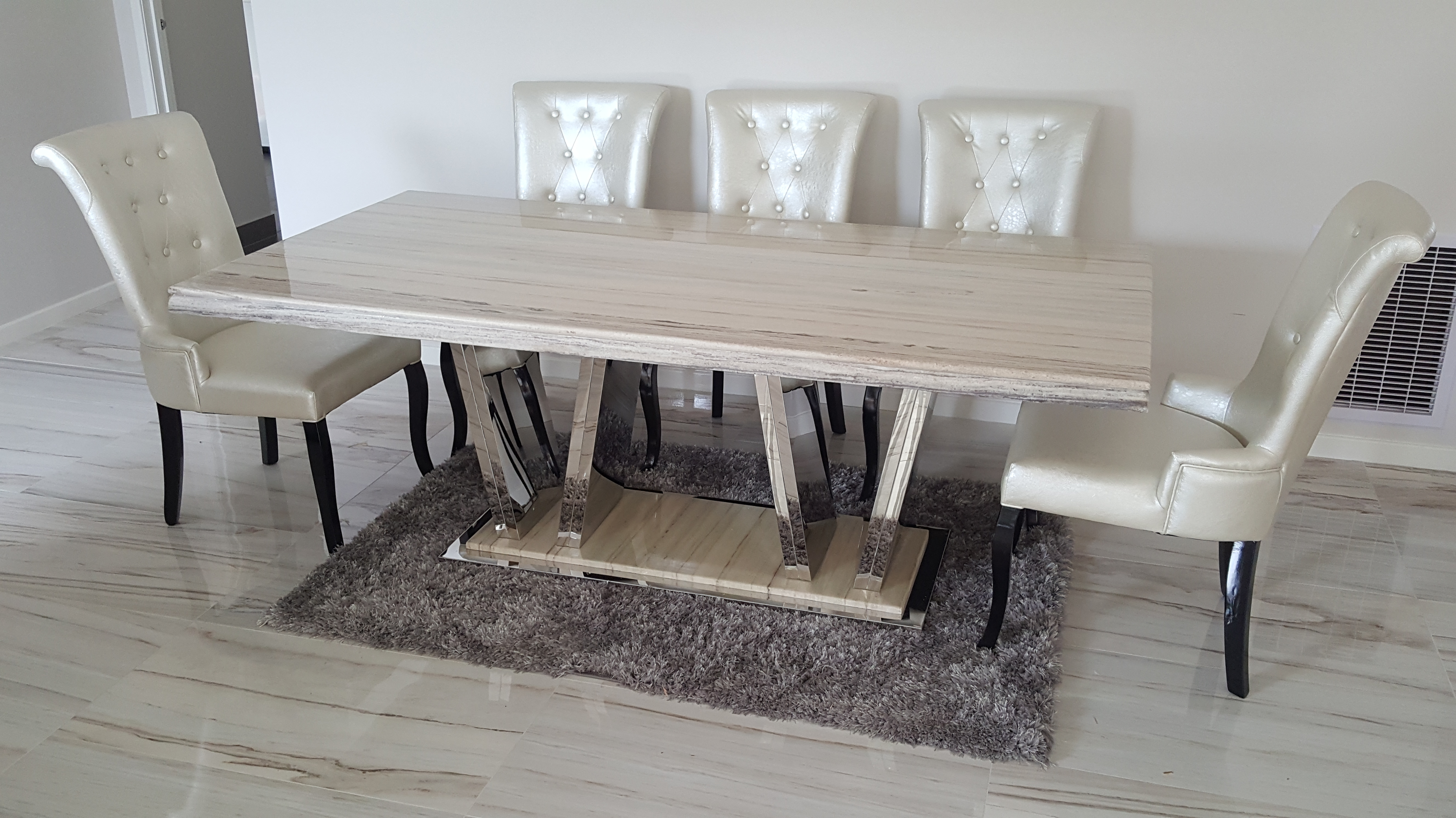 Marble Dining Table Set Sydney