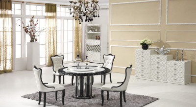 Naples Marble Dining Table With 6 Chairs Part 37