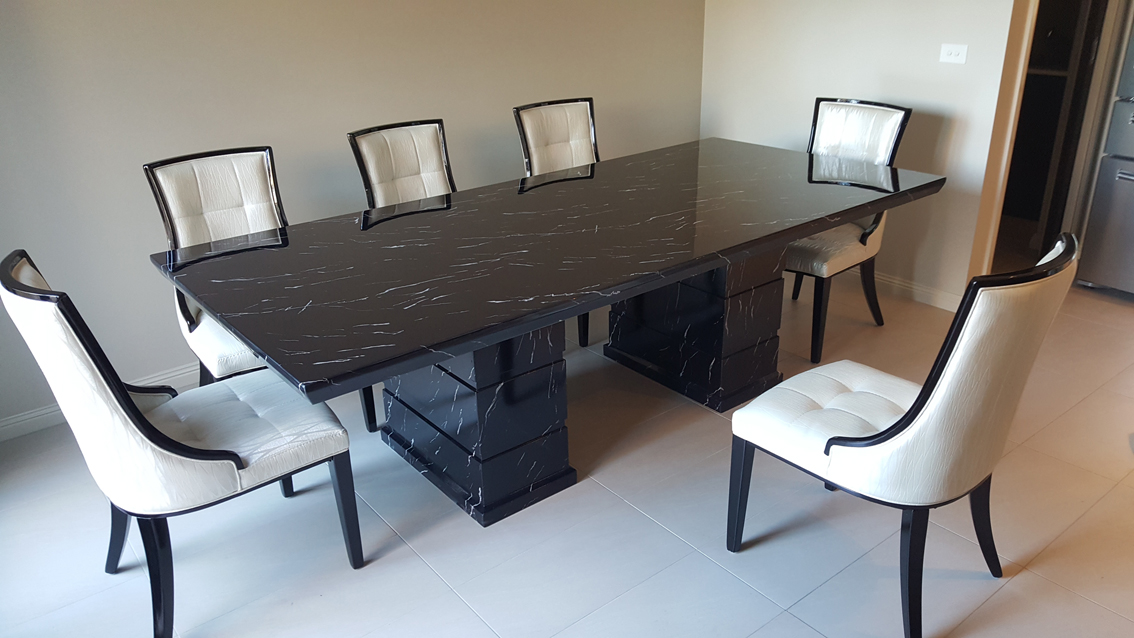 Marble Dining Table Rectangle
